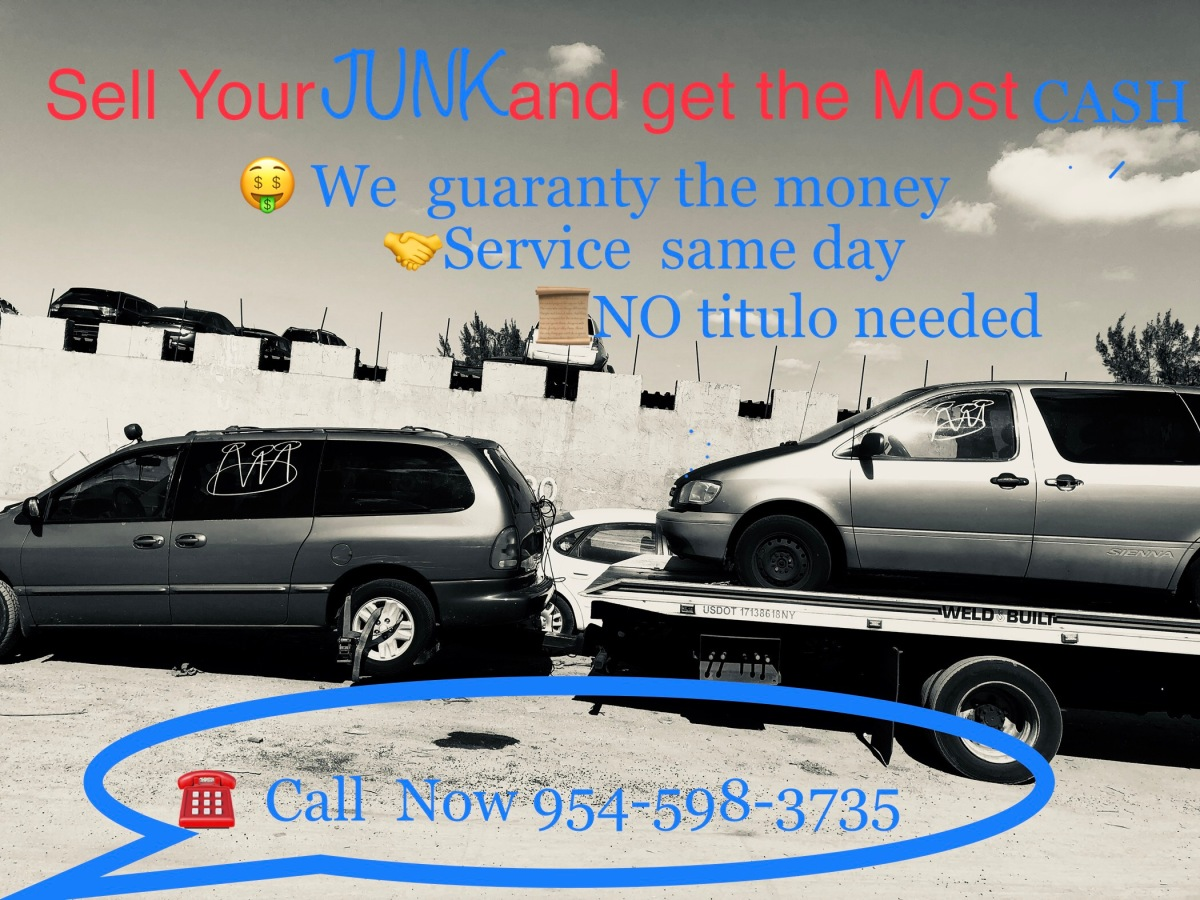 extra cash for junk cars broward – cash for junk cars